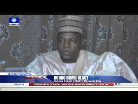Bomb Blast Kills 16 In Monguno LGA, Borno 22/09/15