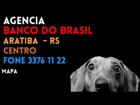 ✔ Agência BANCO DO BRASIL em ARATIBA/RS CENTRO - Contato e endereço