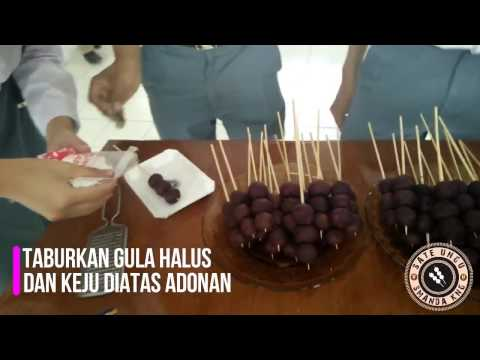 Video Cara Membuat Sate Ubi Ungu