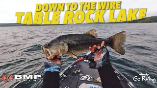 FLIRTING WITH THE CUT-LINE: TABLE ROCK LAKE | BMP FISHING