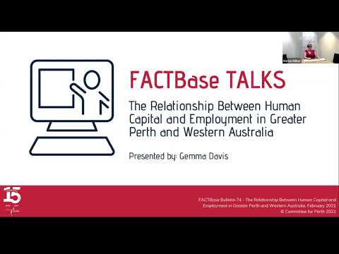 FACTBase Talks - The Relationship between Human Capital and Employment