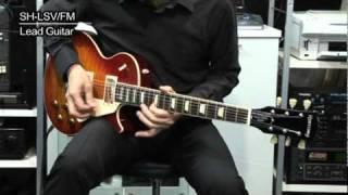 エレキギター「HISTORY(ヒストリー) SH-LSV/FM」の紹介