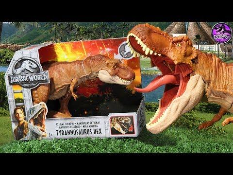 Extreme Chompin' T-Rex!! | Jurassic World: Fallen Kingdom | Toy Review