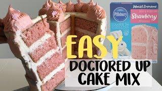 HOW TO MAKE A BOX CAKE TASTE HOMEMADE | BAKING HACKS