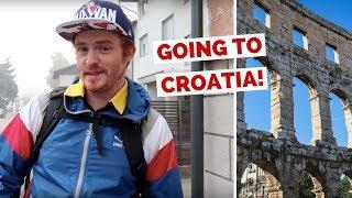 Slovenia to Croatia by Bus Travel Vlog