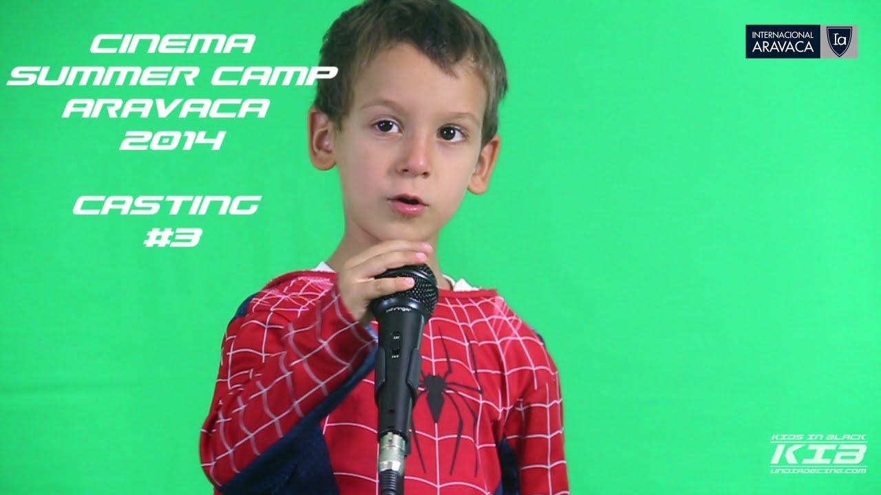 Casting #3. Cinema Aravaca Summer Camp 2014