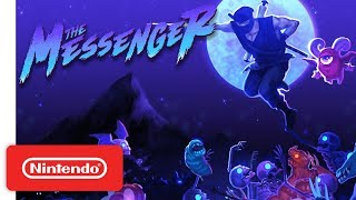 The Messenger - Launch Trailer - Nintendo Switch