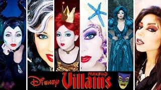 Ultimate DISNEY VILLAINS Makeup Compilation! | Charisma Star