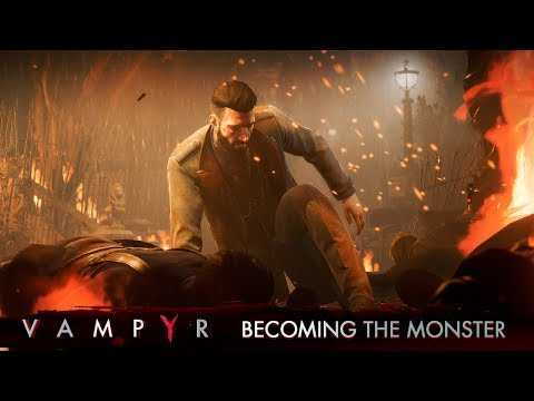Vampyr - Becoming the Monster Trailer thumbnail
