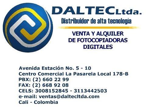 VENTA Y ALQUILER DE FOTOCOPIADORAS CALI, COLOMBIA - DALTEC