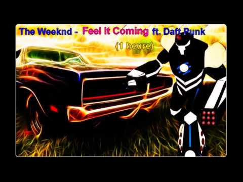 The Weeknd - I Feel It Coming ft. Daft Punk  (1 heure)