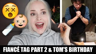 HE WANTS A BABY NOW! *BIRTHDAY WISH*