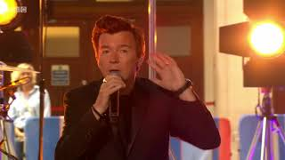 Rick Astley   Beautiful Life Live On The One Show. 18 July 2018