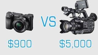 Sony a6300 vs Sony FS5 : Camera Shootout