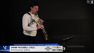 SIMONE VECCIARELLI plays Mi bailaora by D. Salleras #adolphesax