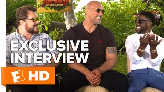 Jack Black, Dwayne Johnson & Kevin Hart Share Their Hidden Talents   All Access