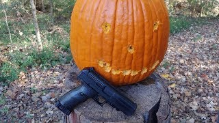 Pumpkin Carving with a Hi-Point