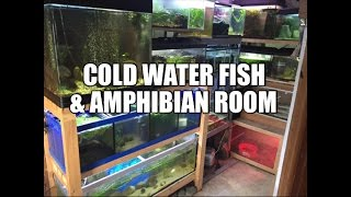 Cold Water Fish & Amphibian Room
