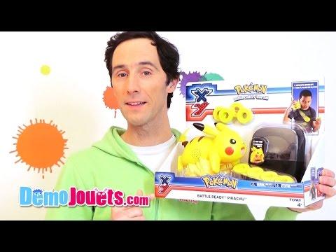 De Pokemon L'attaque Prêt À Pikachu Test Tomy Jouets Démo O8nwP0XNk
