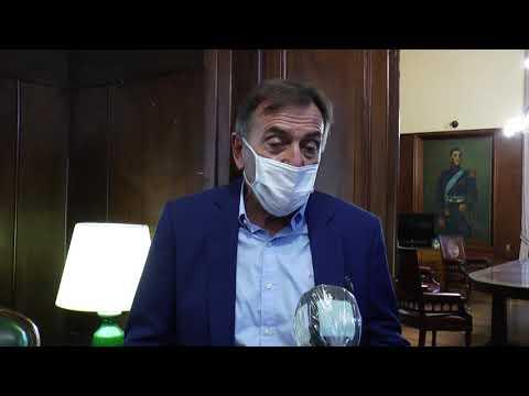 """Garro con infectólogos: """"Cuanto más gente use máscara de protección, menos se esparce el virus"""""""