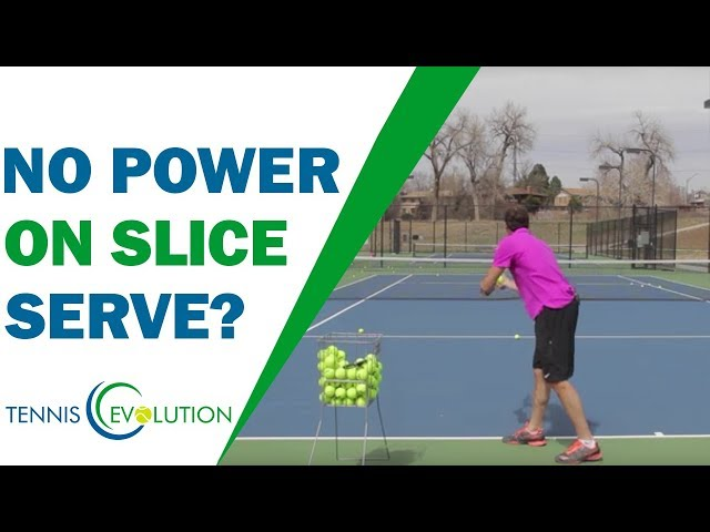Don't Make This Slice Serve Mistake (NO POWER)! | TENNIS SERVE