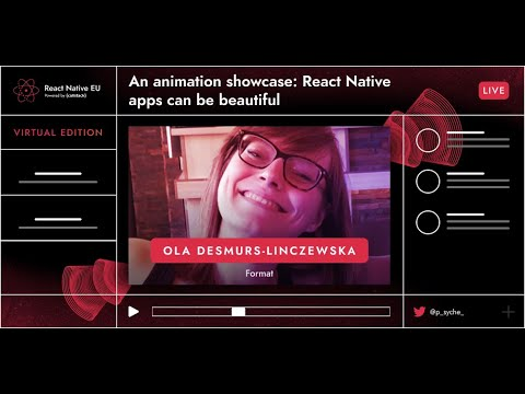 Image thumbnail for talk An Animation Showcase: RN App Can Ce Beautiful
