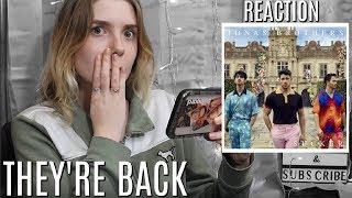 "Jonas Brothers: ""Sucker"" MUSIC VIDEO REACTION | Olivia Rena"
