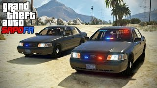 GTA SAPDFR - DOJ 127 - Tailing Drug Runners (Law Enforcement)