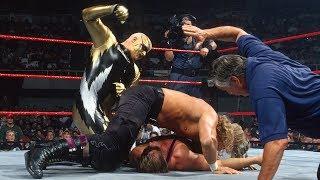 Owen Hart vs. Goldust vs. Triple H - Triple Threat Intercontinental Title Match: Raw, June 23, 1997