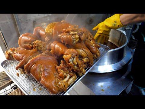 Korean Braised Pig's Trotters (Jokbal) – Korean Street Food