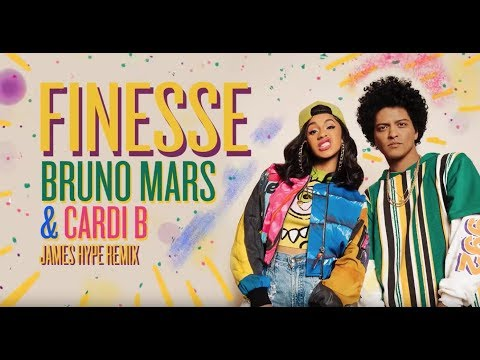 Bruno Mars - Finesse (James Hype Remix) [Ft Cardi B] video