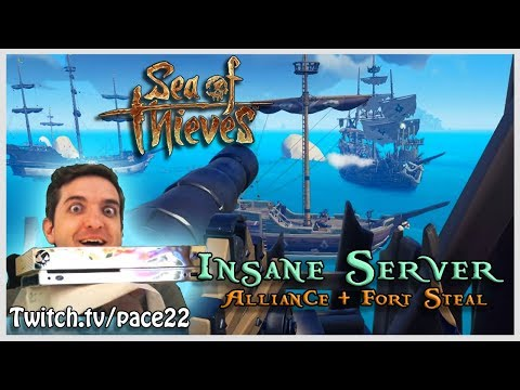 Soloing a 3 Ship Alliance, INSANE plays- Sea of Thieves