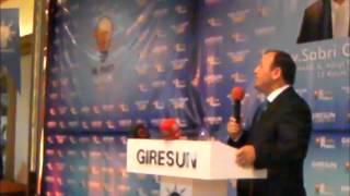 preview picture of video 'AV.SABRİ ÖZTÜRK'ÜN GİRESUN MV. ADAY ADAYLIĞI ACIKLAMA TOPLANTISI'