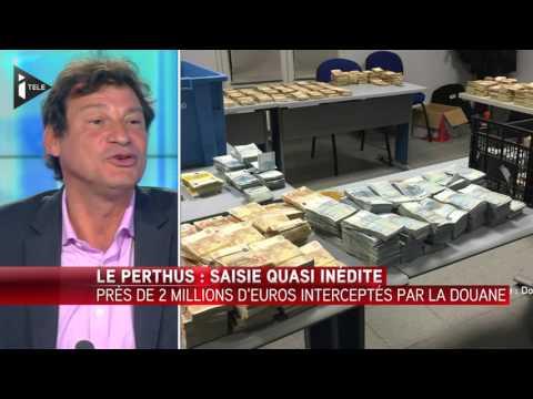 Le Perthus (66) : Saisie record de près de 2 millions d'euros