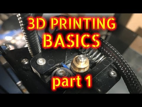 Intro to 3D printing - Part 1 (Hardware)