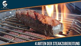4 Arten der Steakzubereitung - vorwärts/rückwärts/flippen/sous vide  #0099