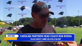 Carolina Panthers' Tuesday practice filled with new injury issues