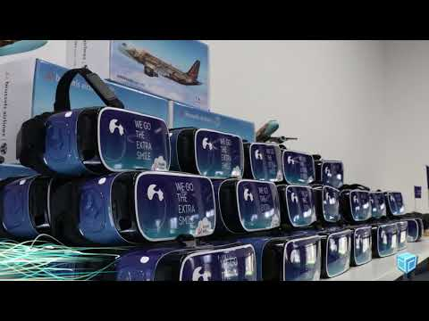 Interactieve 360° experience - Brussels Airlines