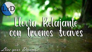 8 Horas de Sonidos de Lluvia y Truenos: Sonidos de la Naturaleza para Dormir, Relajarse, Estudiar HD