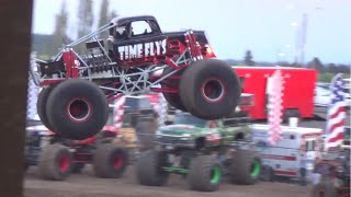 Monster Trucks freestyle & Intro's 7p.m. show @ Clark County fair 2015