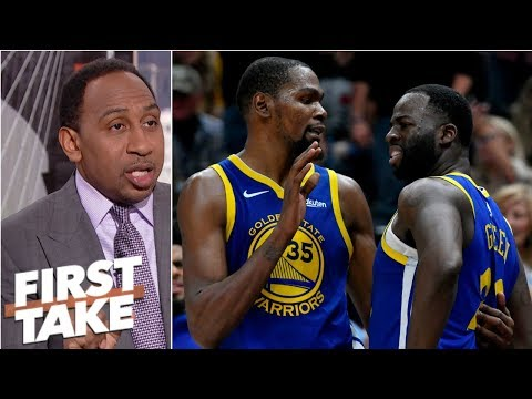 Draymond questioned Kevin Durant's 'commitment' to Warriors - Stephen A.   First Take