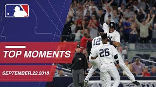 Top 10 Moments around MLB: September 22, 2018 - Video Youtube