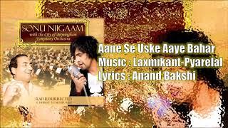 Aane Se Uske Aaye Bahar | Mohd. Rafi | Laxmikant   - YouTube
