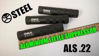 Глушитель ALS .22 lr для мелкашки | Aluminium littel suppressor .22lR
