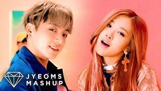 BTS  BLACKPINK - DNA X 휘파람 WHISTLE (MASHUP)