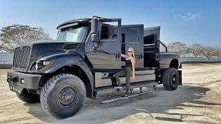 $500,000 Monster Pickup Truck With 6 doors
