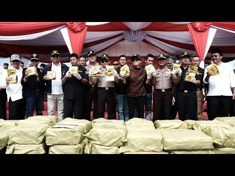 Bea Cukai dan Polri Bongkar Penyelundupan 1,6 Ton Sabu