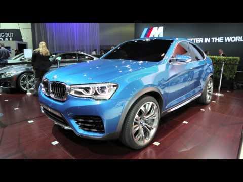 BMW X4 Concept - 2013 L.A. Auto Show