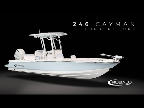Robalo 246 Cayman SD video