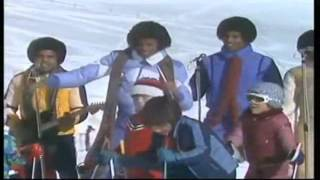 THE JACKSONS  -  Blame It On The Boogie (on snow, in Switzerland) 1978